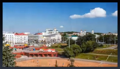 Belarus. Vitebsk Timelapse video